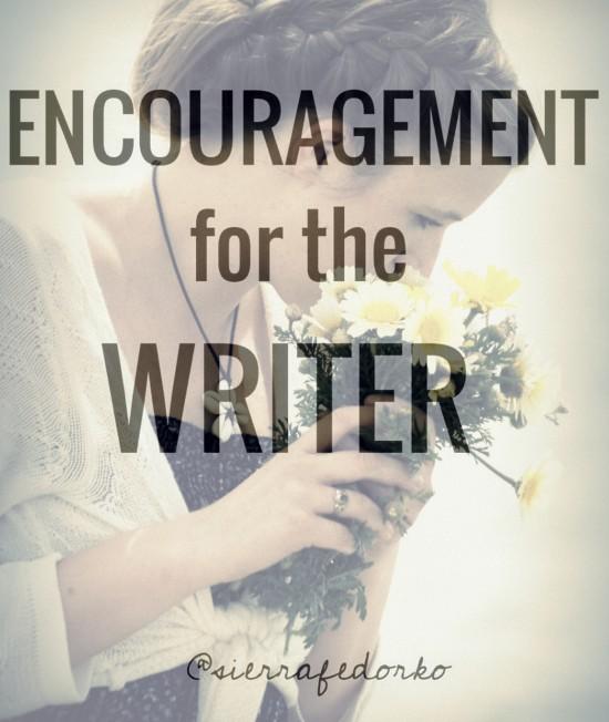 encouragementforthewriter