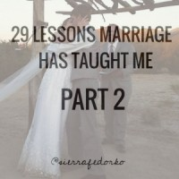 29 Marriage Lessons | Part 2