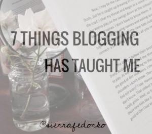 BloggingLessons