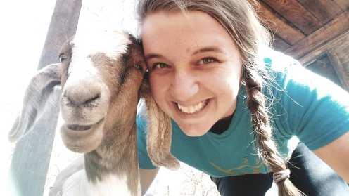 Hattie-girl & me